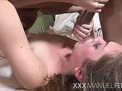 Sex lover Jessie Andrews receives hardcore pussy banging and gets messy cum