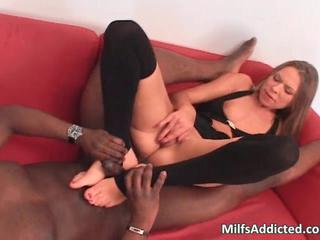 Amazing cock on blonde slut load