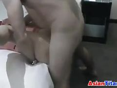 Cheating Asian Wife Double Penetrated
