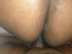 Big ebony wife gets drilled