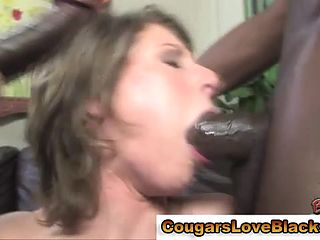 Milf Sucking Big Black Cock